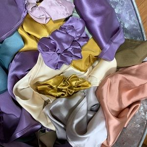 Silk Treasures: Scarves, Handkerchiefs, Scrunchies